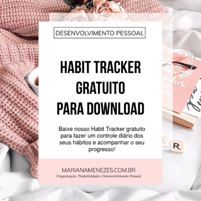 Habit Tracker Gratuito para Download: Mude seus Hábitos!